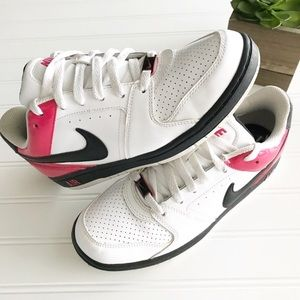 Nike Pink & White and Black